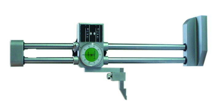 Double column dial height gauge
