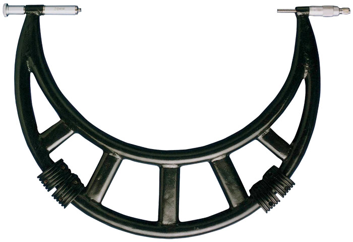 Micrometer with tube frame